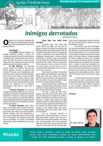 Informativo 27-11-2011