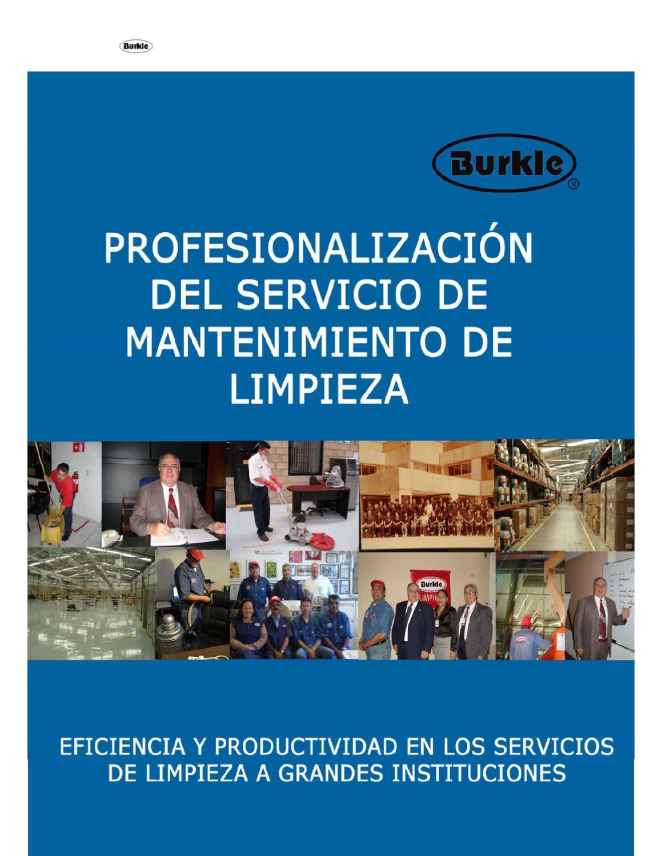 Manuales de limpieza by empresa burkle issuu - Empresas de limpieza en fuenlabrada ...