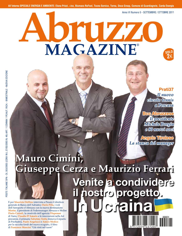 Abruzzo Magazine Settembre-Ottobre 2011 by Abruzzo Magazine - issuu