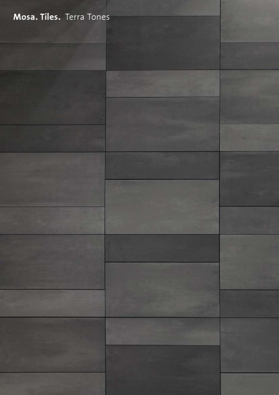 mosa terra tones by royal mosa issuu. Black Bedroom Furniture Sets. Home Design Ideas