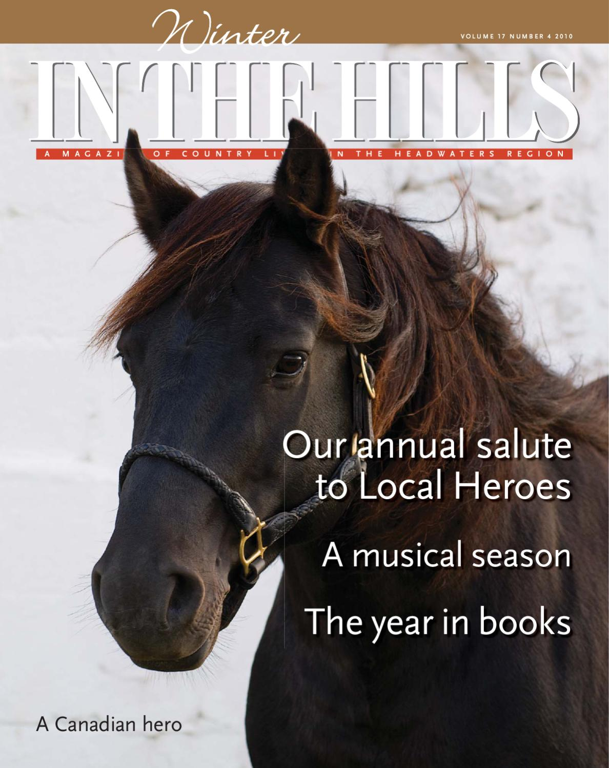 Winter In The Hills 2013 by In The Hills Magazine - issuu