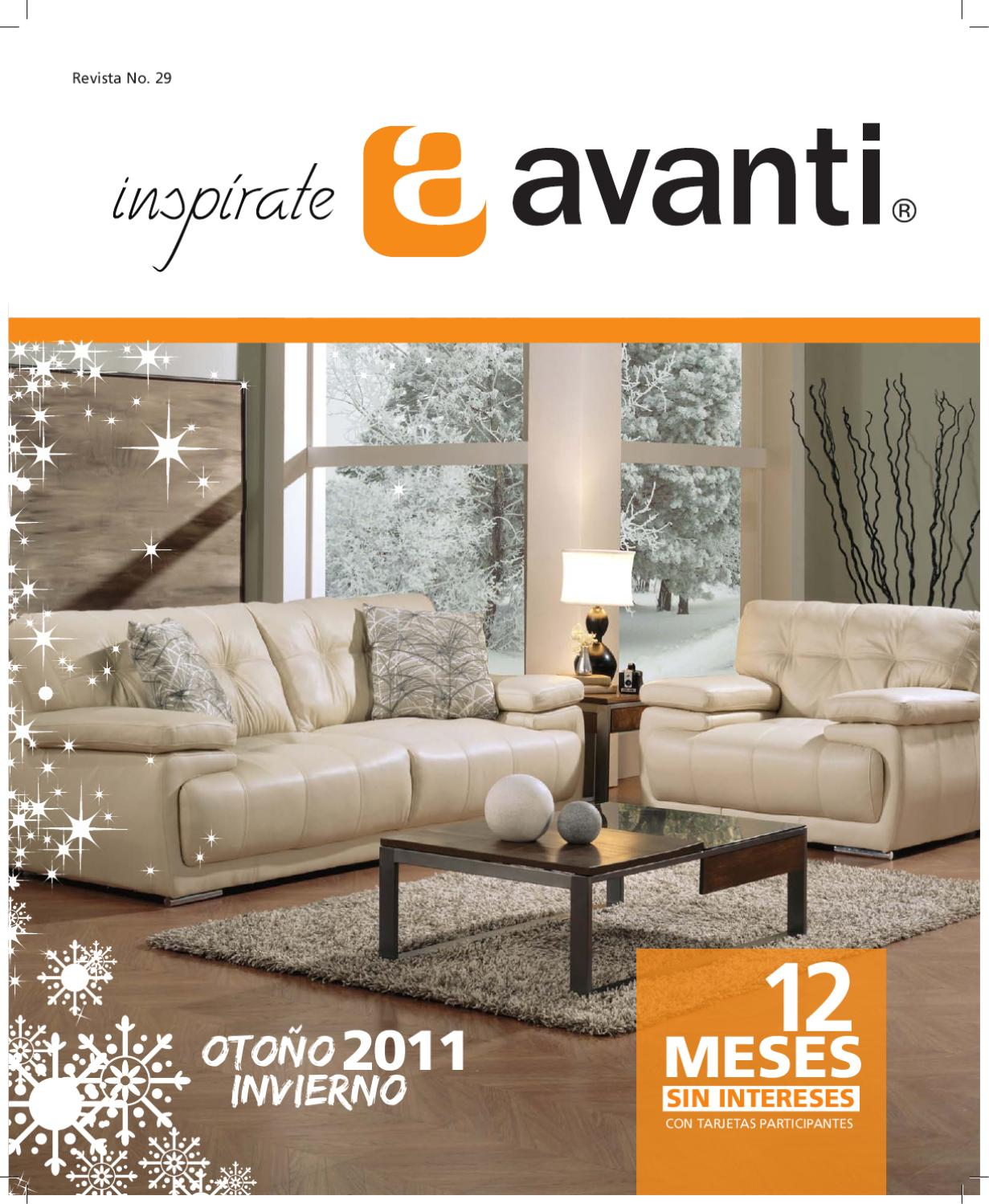 Muebler a avanti colecci n cat logo 2011 by rodolfo for Muebles sanchez catalogo