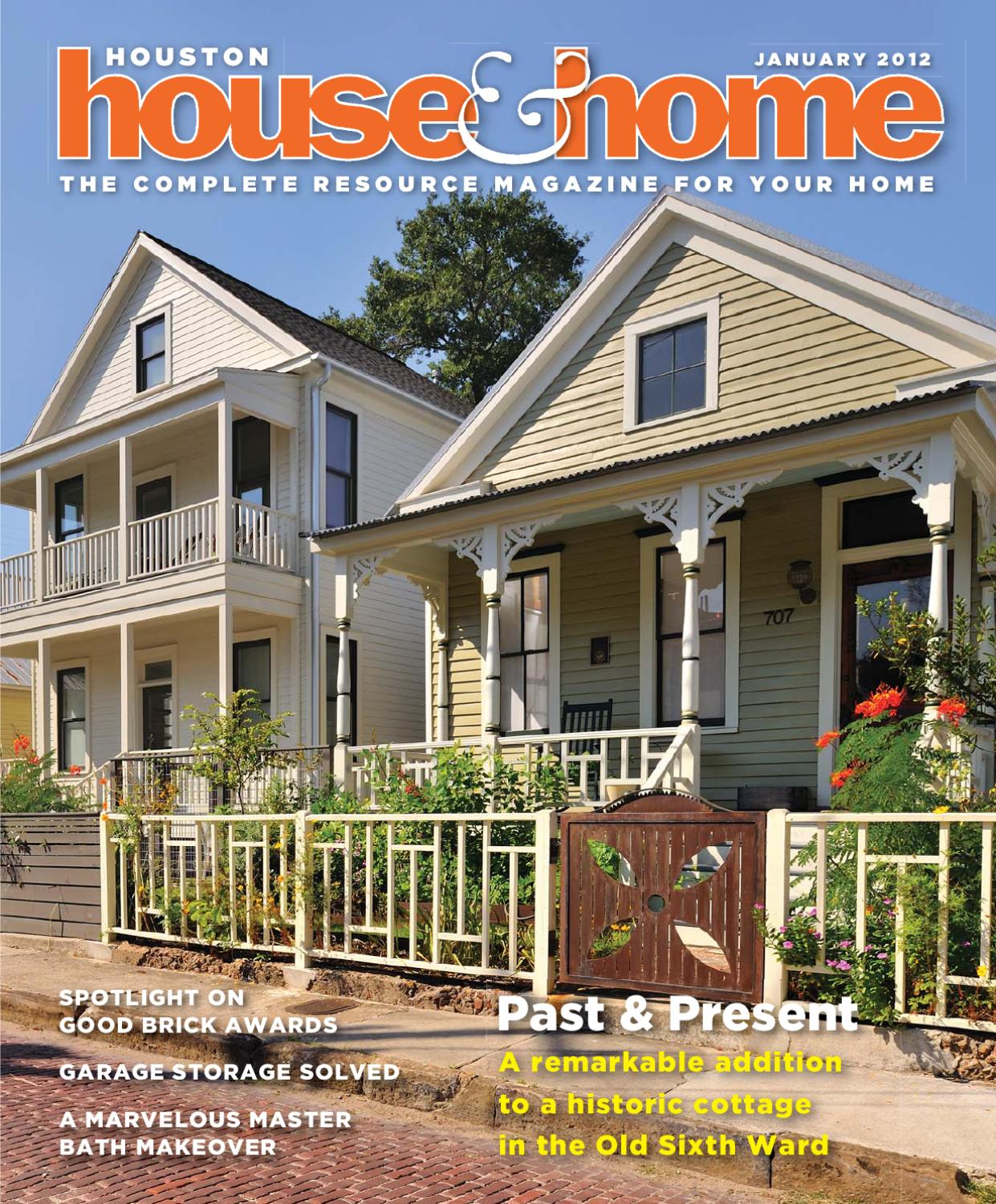 home magazine january 2012 issue by houston house home magazine. Interior Design Ideas. Home Design Ideas