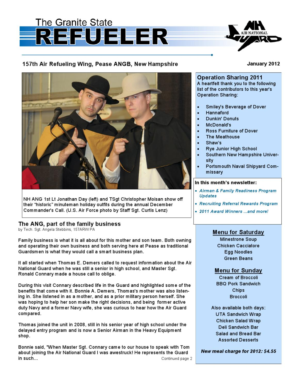 The Refueler January 2012 By Dave Horn Page 1 Issuu
