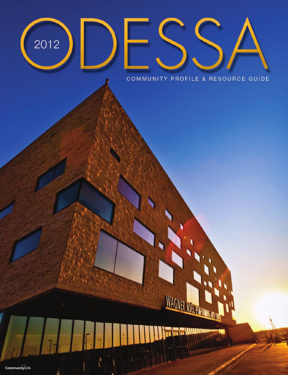 odessa tx community profile and resource guide by odessa tx 2014 community profile and resource guide