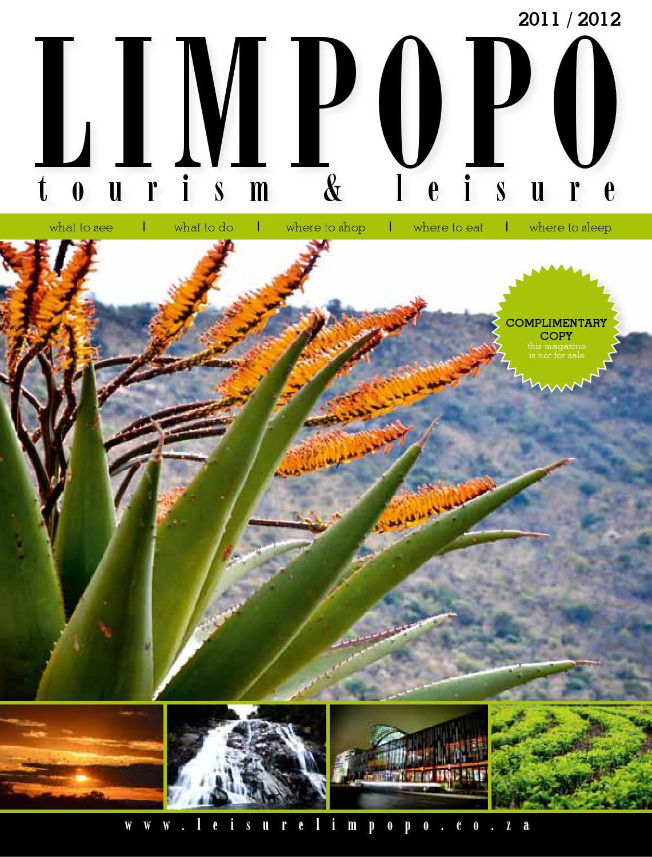 Limpopo Tourism Amp Leisure Magazine By Stefanus Bekker Issuu