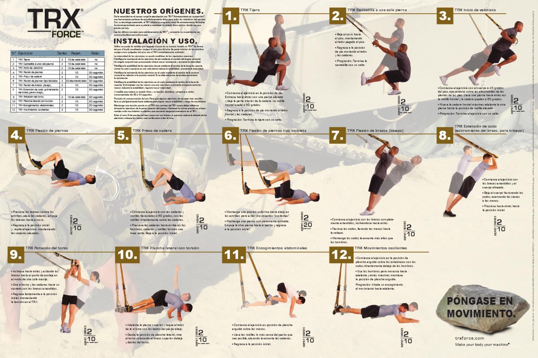 TRX: guía de ejercicios by fitnessdigital - issuu
