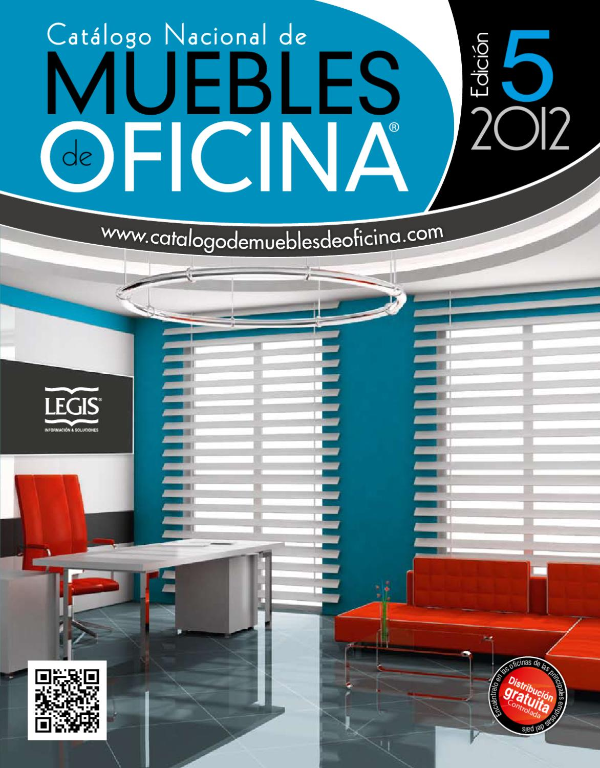 Cat logo nacional de muebles de oficina edici n 5 by legis for Catalogo muebles oficina