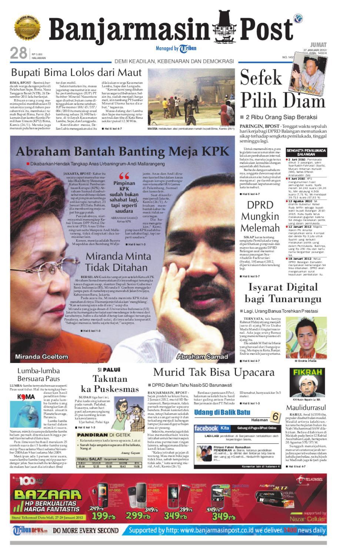 Banjarmasin Post Edisi Cetak Sabtu 6 Juli 2013 By Banjarmasin