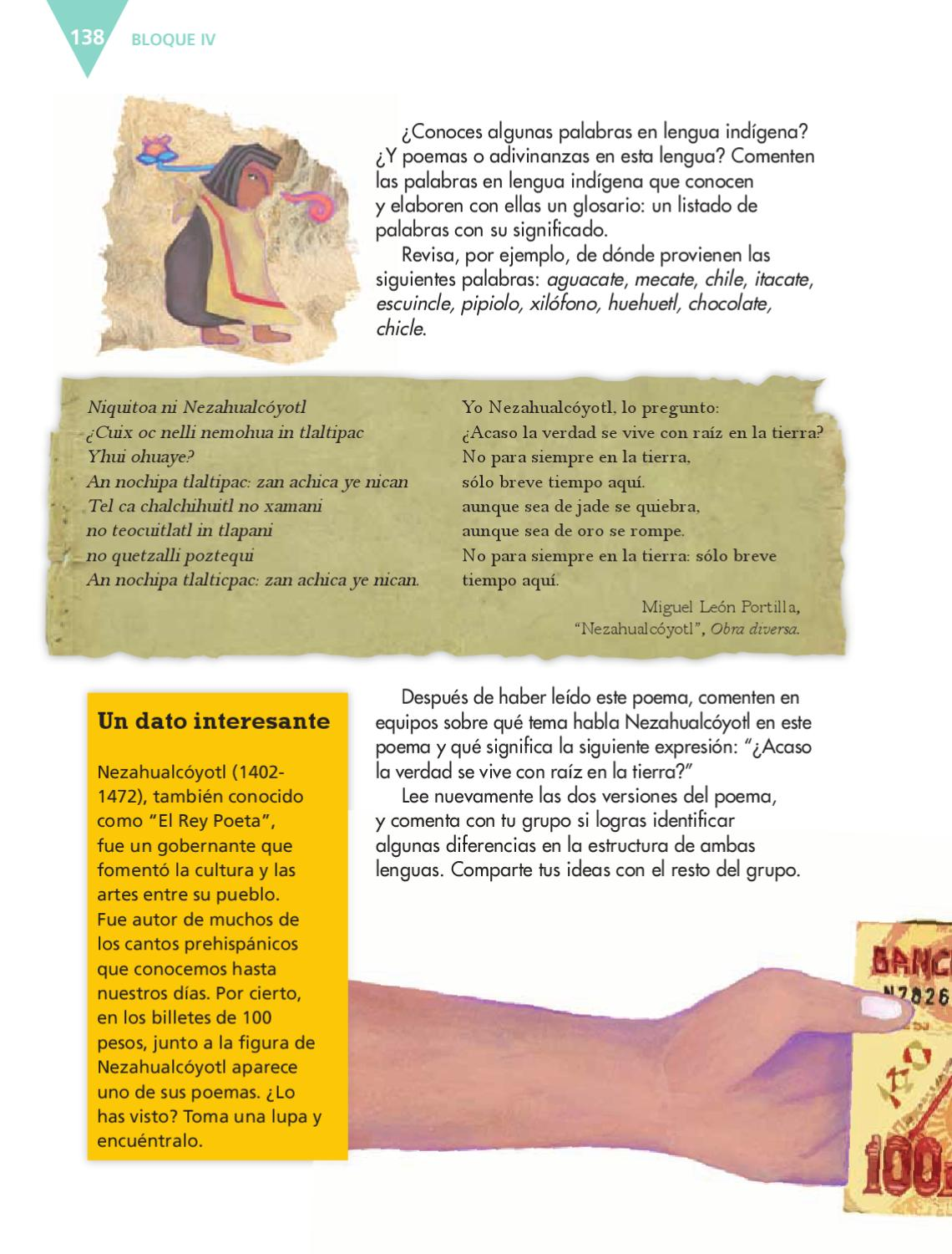 Espa ol 6to grado by rar muri page 140 issuu for De que lengua proviene la palabra jardin