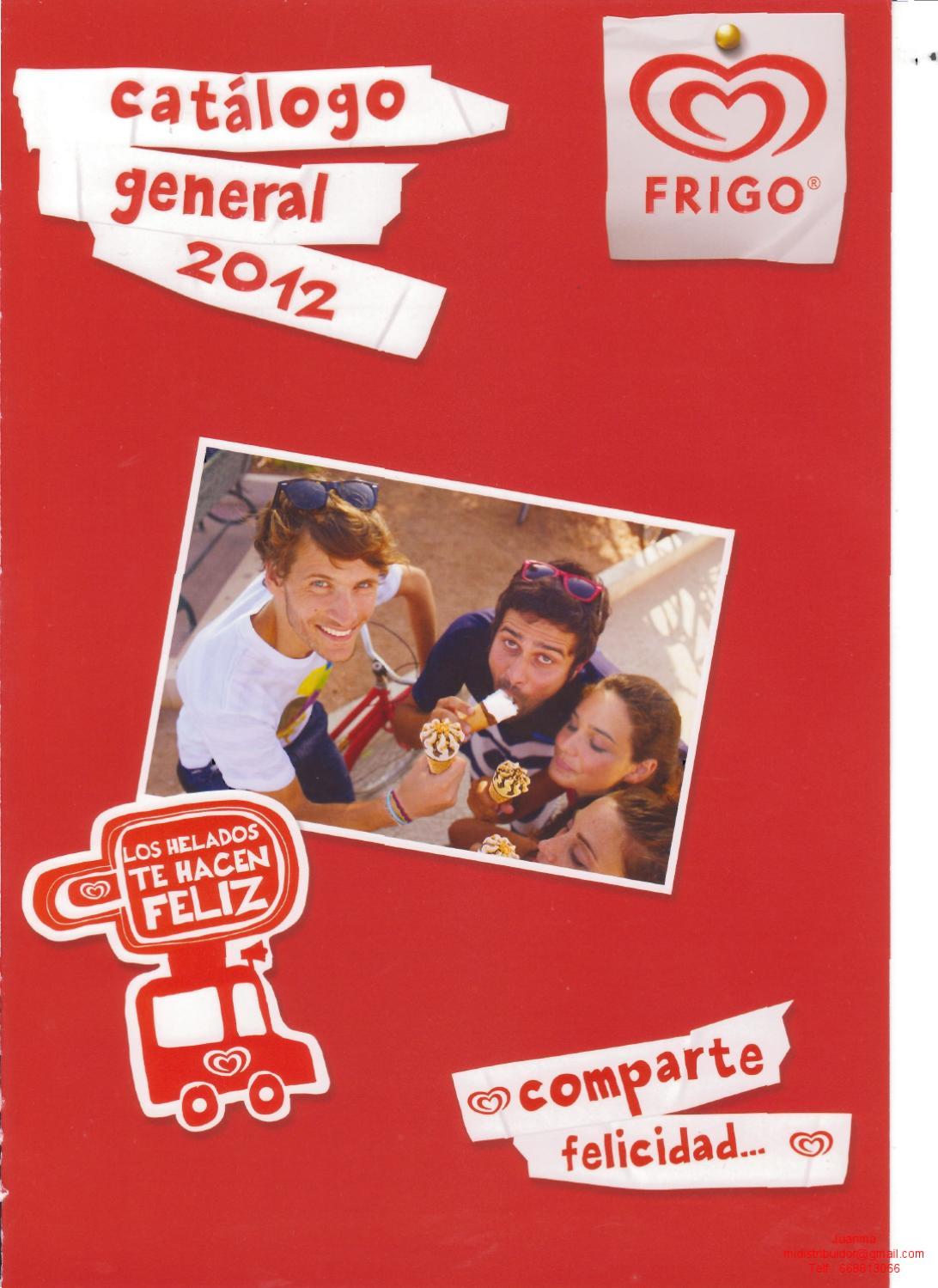 Catalogo general Frigo 2012 by Juanma Mi Distribuidor