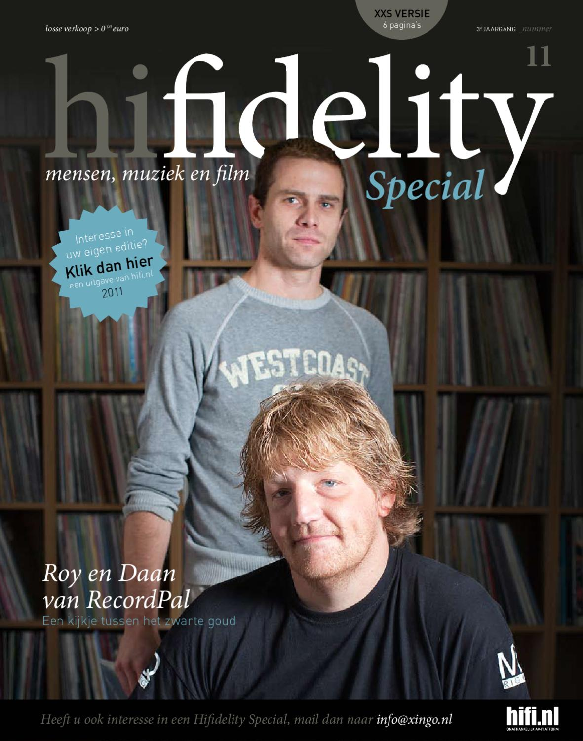 Hifidelity Special 11 - RecordPal by Xingo BV - issuu