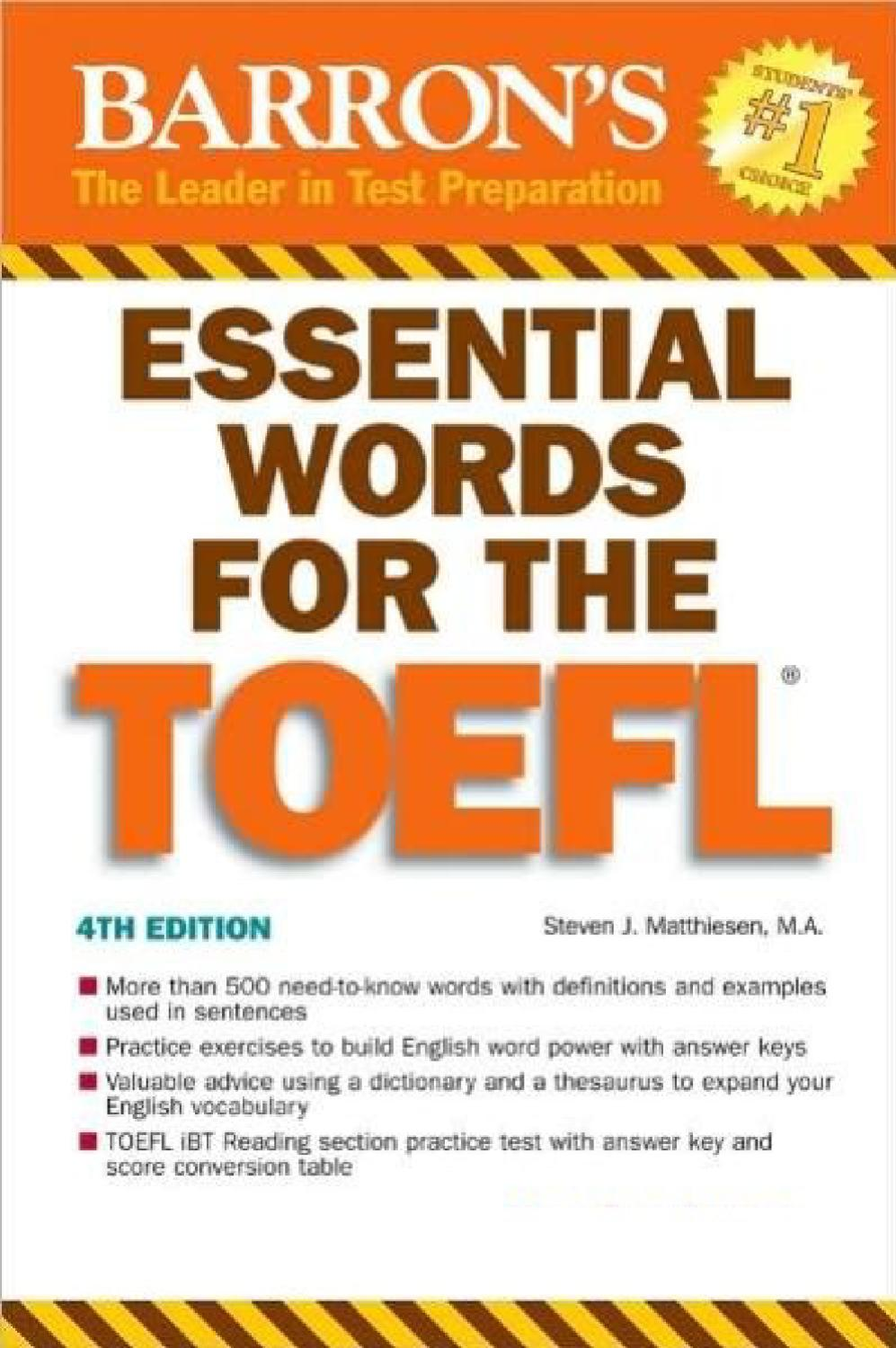 Would it be advantageous for me to take the TOEFL?