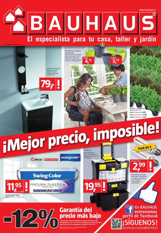 Bauhaus folleto hogar malaga 3 marzo 2012 by misfolletos - Bauhaus macetas ...