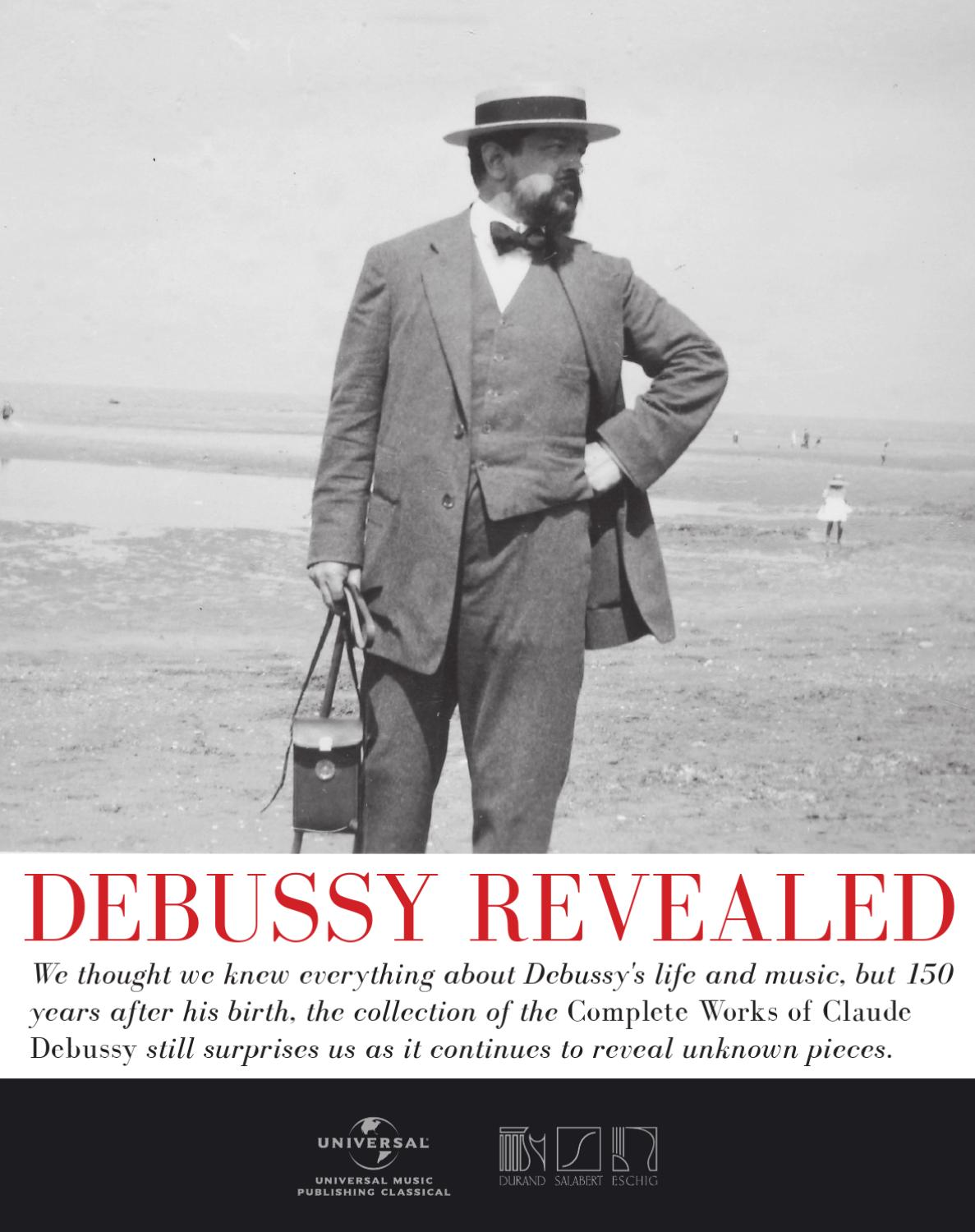 account of the life and works of claude debussy Part biography, part criticism, and part analysis, this fascinating study of one of  music's greatest geniuses is above all an authoritative commentary on the entire .