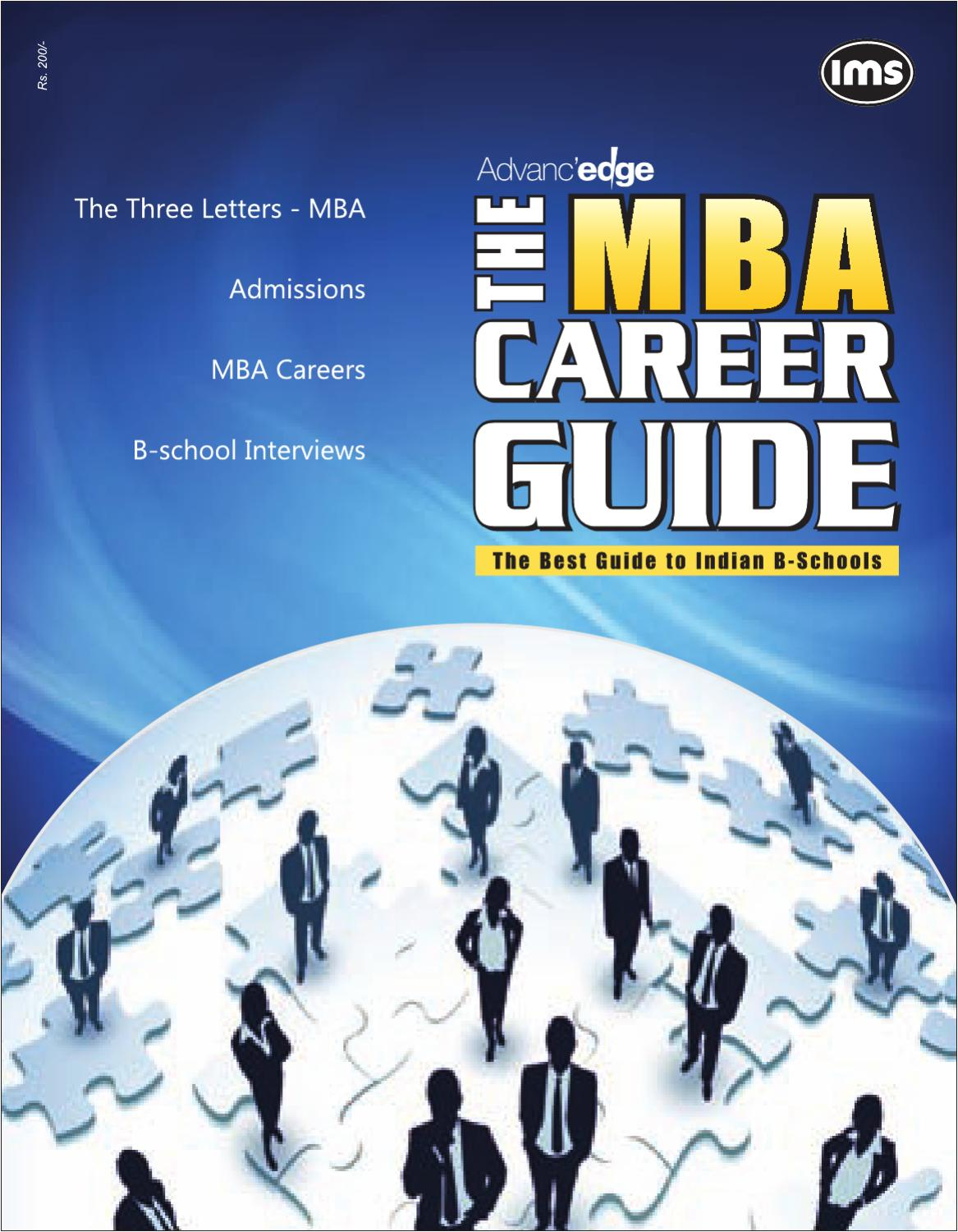 mba career guide by ims publications issuu