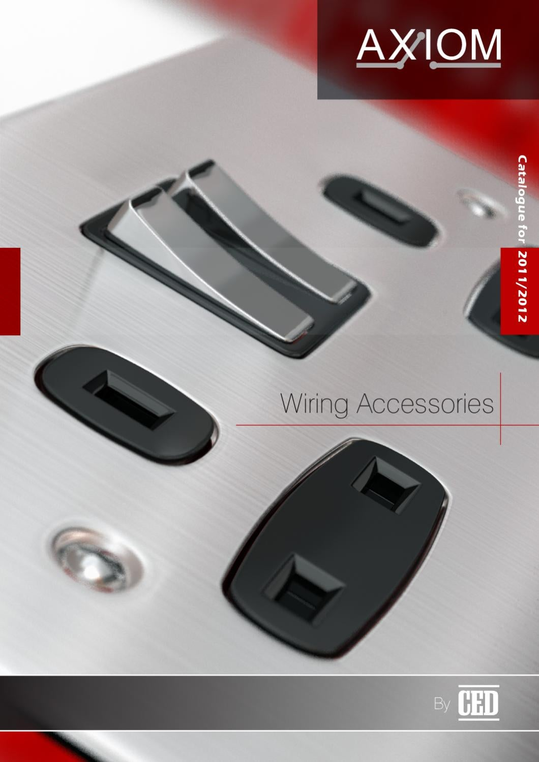 Axiom Wiring Accessories By Ced By Ced-elec