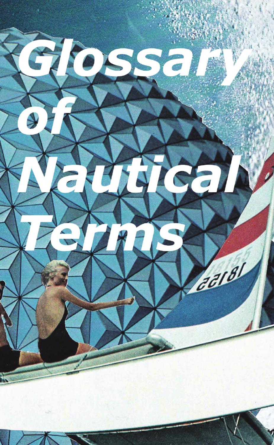 What does the nautical term