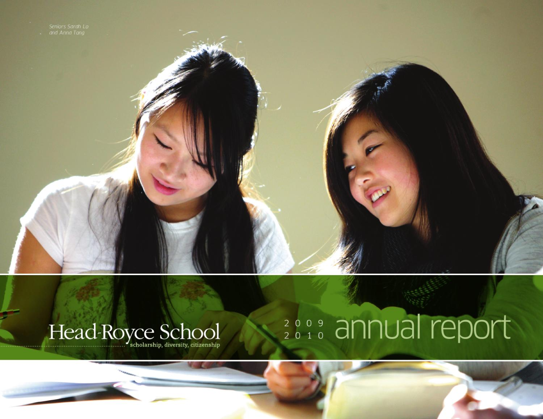 annual report by head royce school issuu