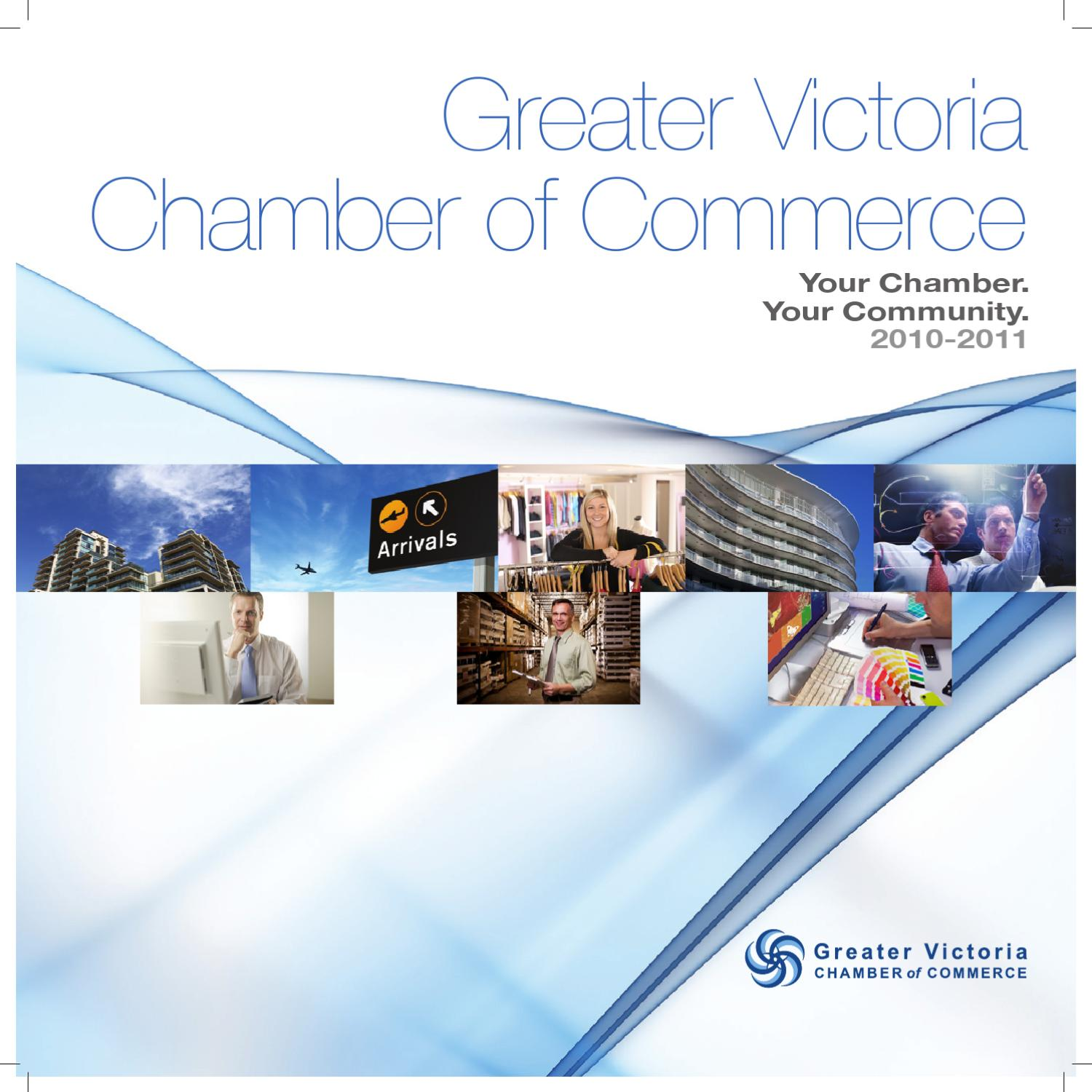 Greater Victoria Chamber of Commerce Annual Report by  : page1 from issuu.com size 1500 x 1500 jpeg 173kB