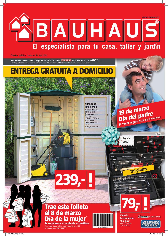 bauhaus catalogo folleto hogar malaga 24 marzo 2012 by On bauhaus malaga catalogo