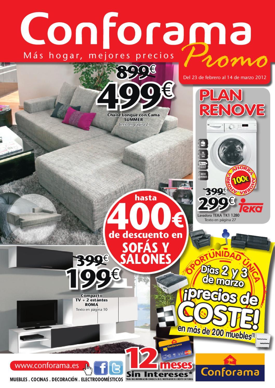 Cat logo conforama sof s y salones by for Televisores conforama