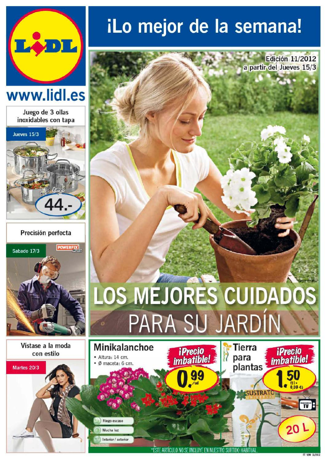 Cat logo lidl ofertas marzo 2012 1 by milyuncatalogos for Lidl catalogo ofertas