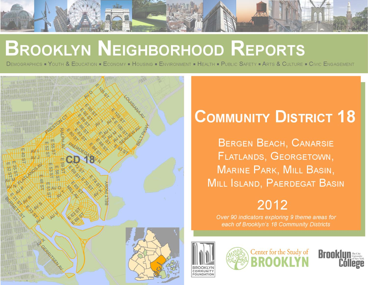 Community District 18 Brooklyn Neighborhood Report By