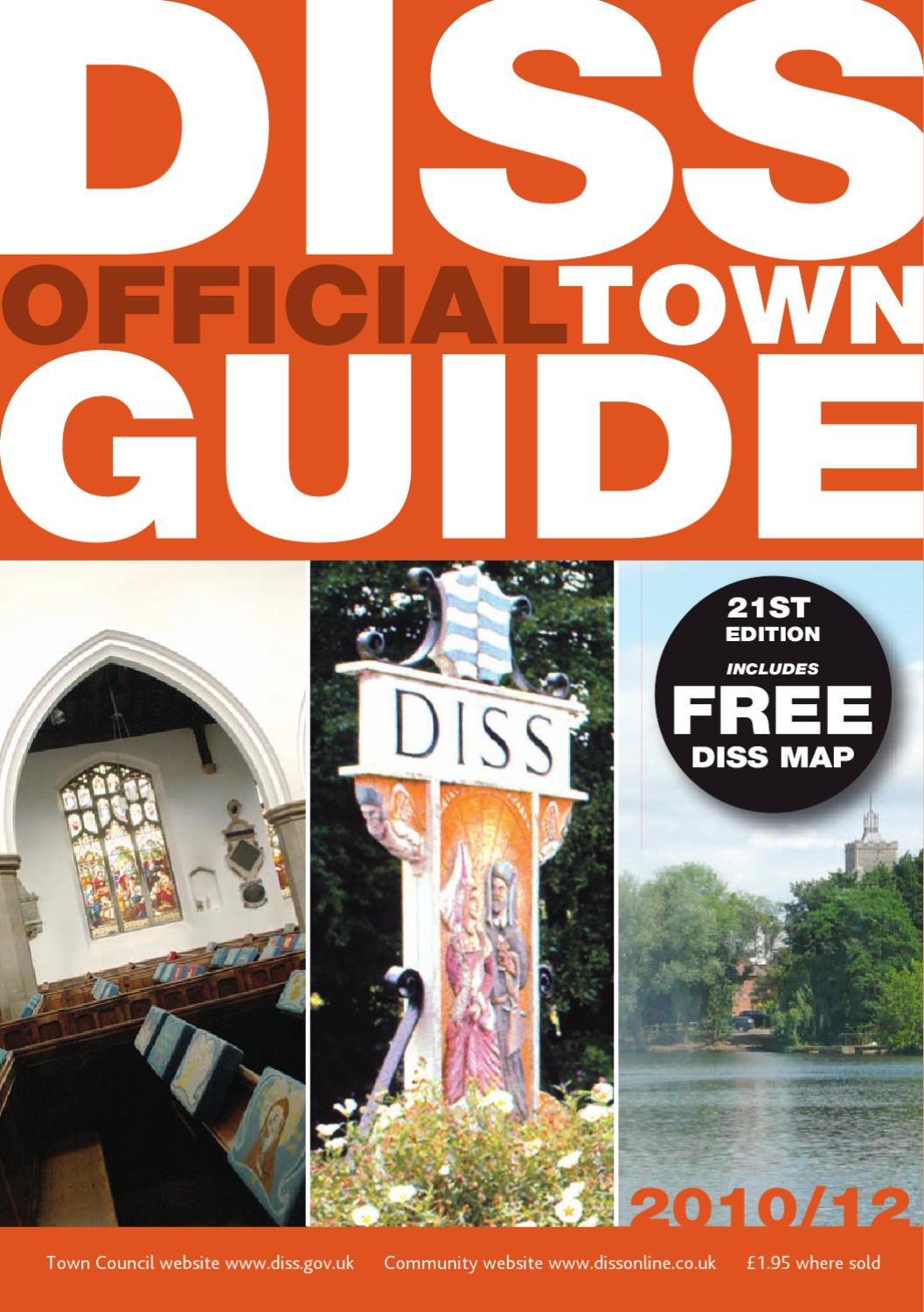 Diss town guide 2016 2017 by falcon publications   issuu
