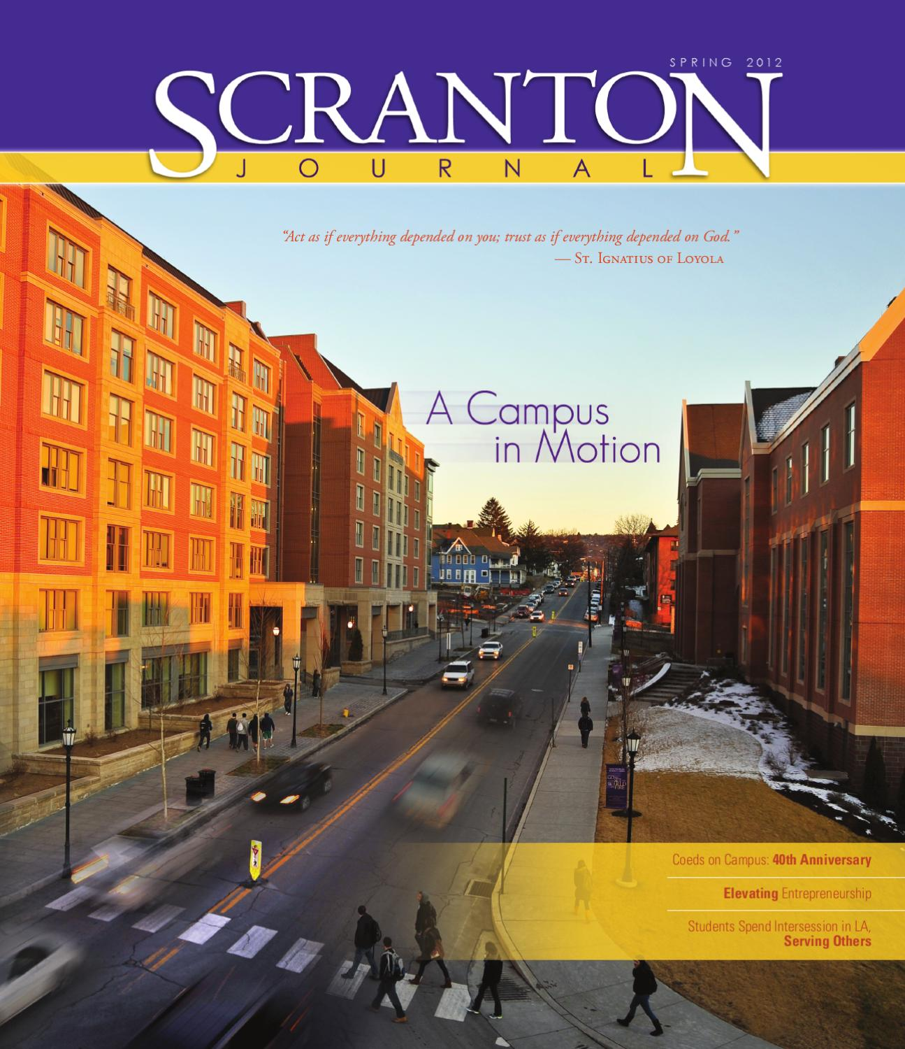 the scranton journal spring by the university of scranton the scranton journal spring 2012 by the university of scranton issuu