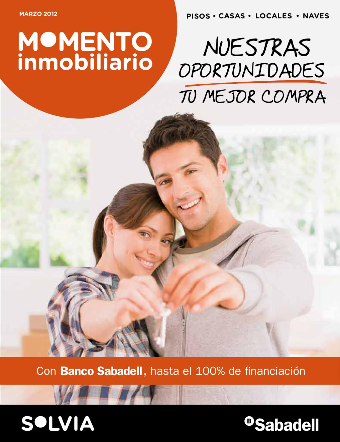 Solvia momento inmobiliario 2012 by banco sabadell issuu for Pisos banco sabadell