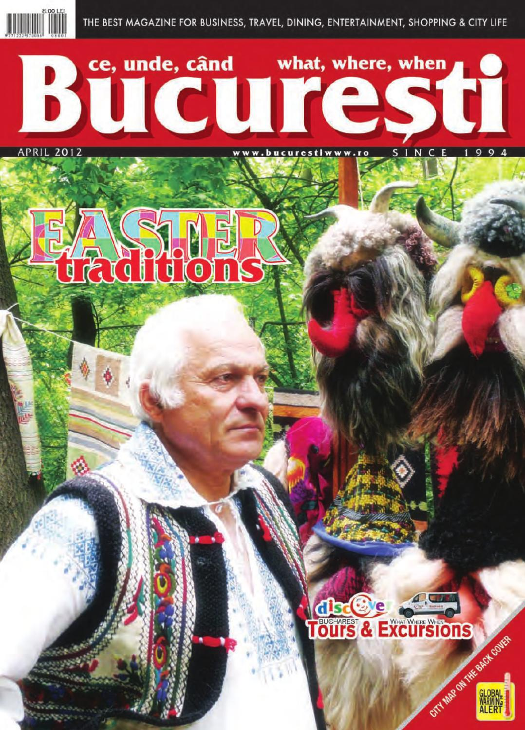 April 2012 bucuresti what where when by crystal publishing group ...