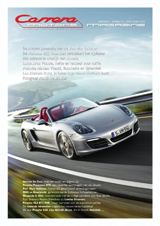 Carrera Motors Porsche Magazine by CBM sarl - issuu