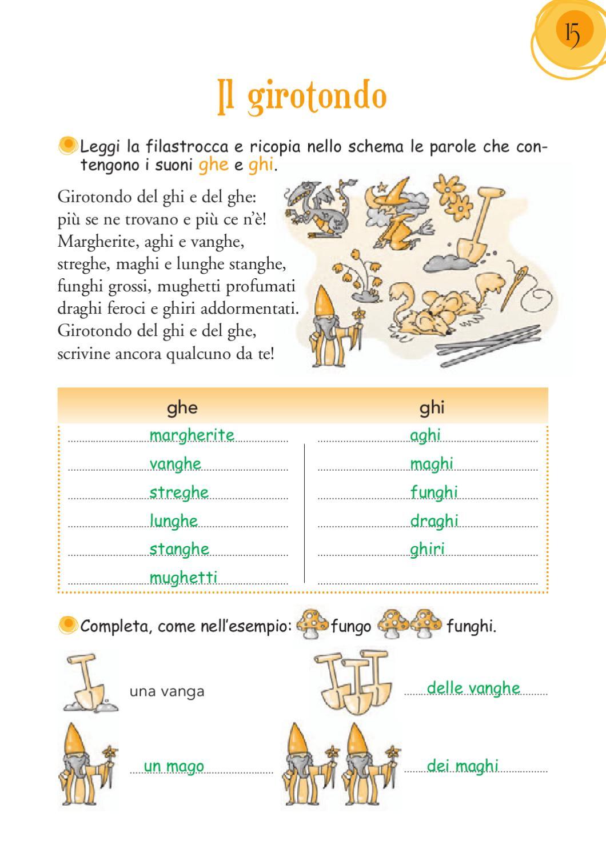 Italiano 1 by elvira ussia page 15 issuu for Parole con la gi