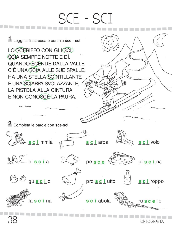 Ok ita 1 by elvira ussia page 38 issuu for Suoni difficili schede didattiche