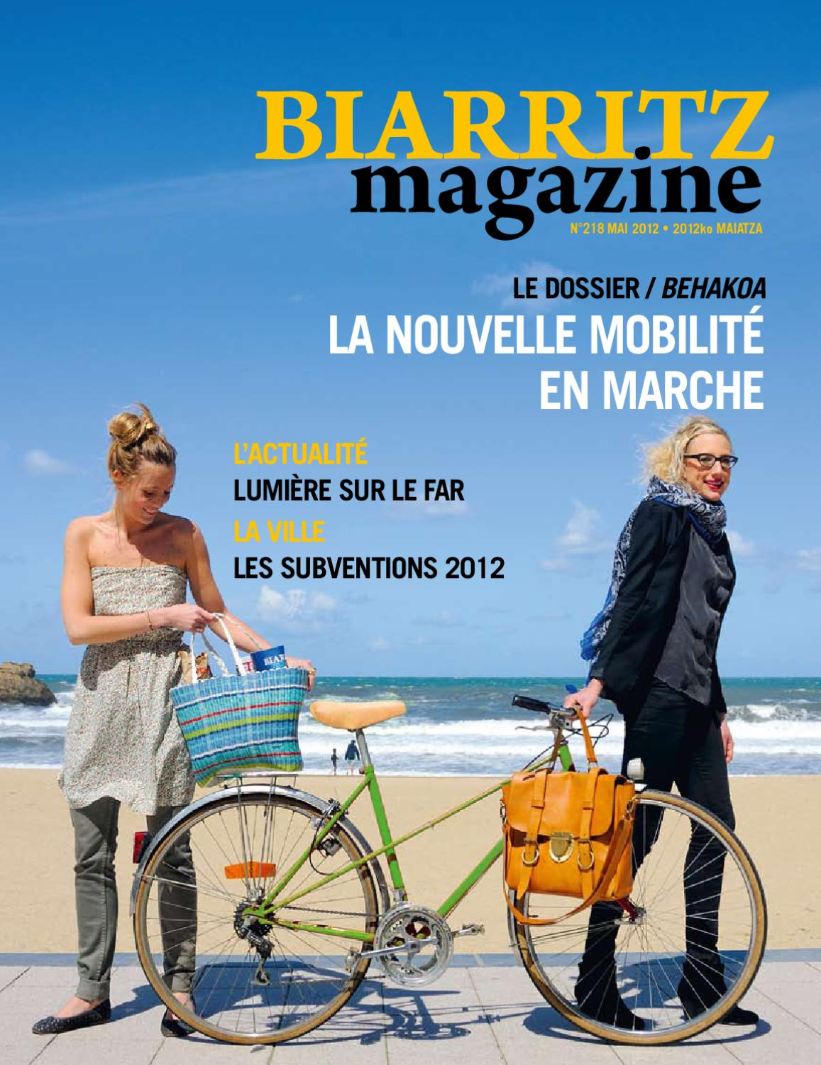 biarritz magazine 218 by ville de biarritz issuu. Black Bedroom Furniture Sets. Home Design Ideas