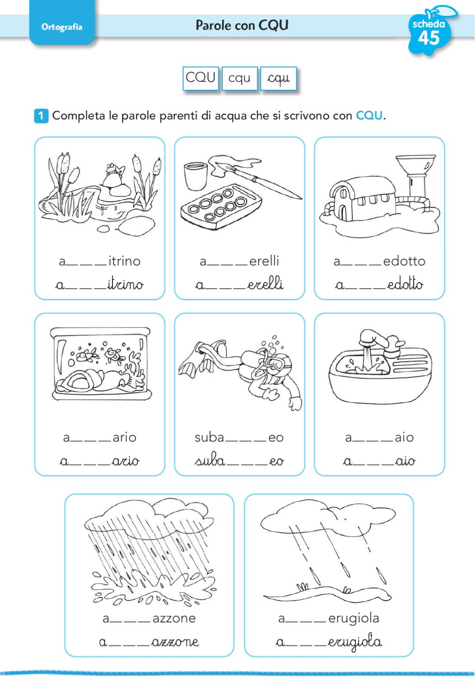 Una parola tira laltra 1 by elvira ussia issuu for Sce sci scuola primaria