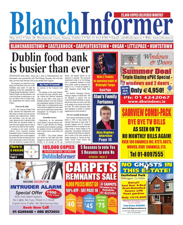 Blanch Informer May 2012 by Niall Gormley - issuu