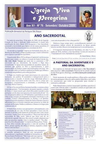 [Igreja Viva e Peregrina – Setembro/Outubro 2009]