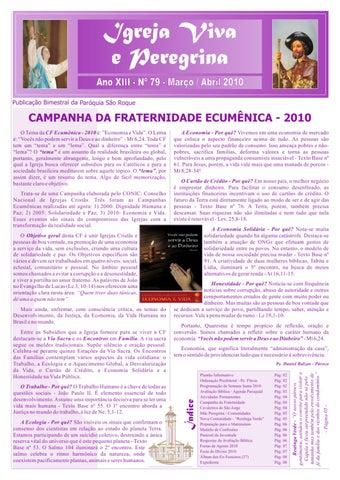 [Igreja Viva e Peregrina – Março/Abril 2010]