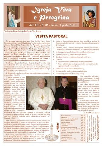 [Igreja Viva e Peregrina – Julho/Agosto 2010]
