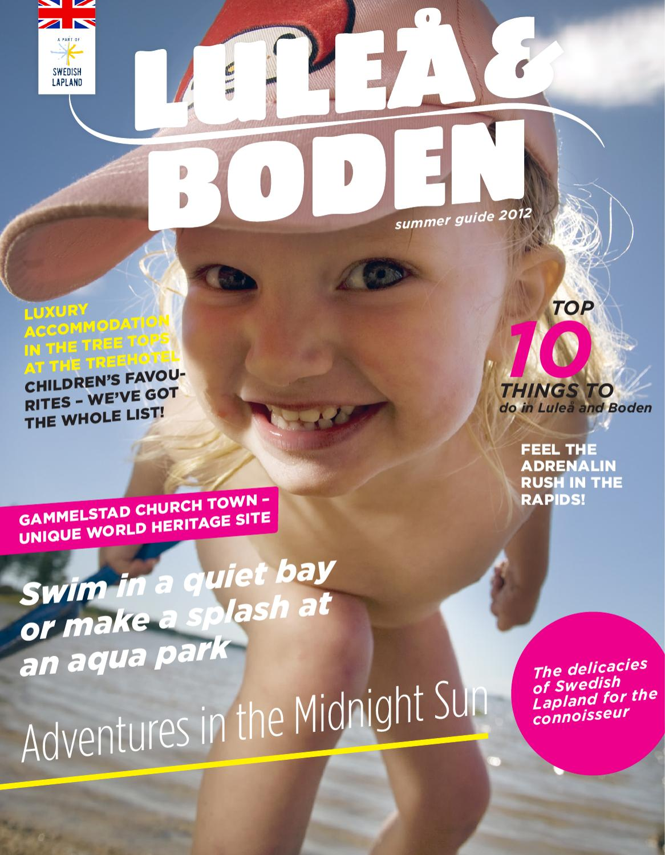 Summer guide 2012 Luleå/Boden by Formsmedjan - issuu