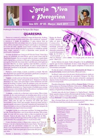 [Igreja Viva e Peregrina – Março/Abril 2011]
