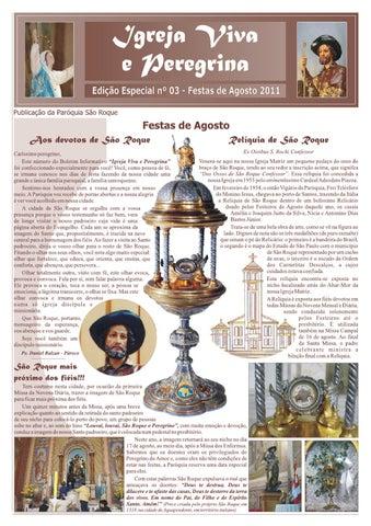 [Igreja Viva e Peregrina – Edição Especial 2011]