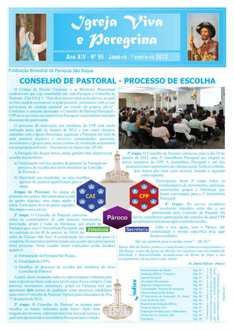 [Igreja Viva e Peregrina – Janeiro/Fevereiro 2012]