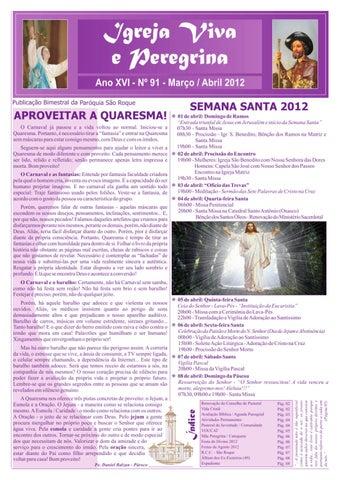 [Igreja Viva e Peregrina – Março/Abril 2012]