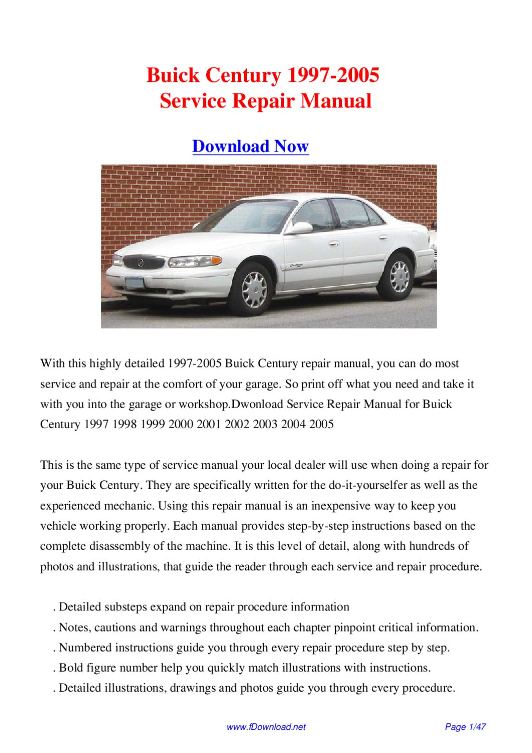 2000 buick century owners manual trusted wiring diagrams u2022 rh weneedradio org 2002 Buick Regal GS Supercharged 2002 Buick Regal GS Supercharged
