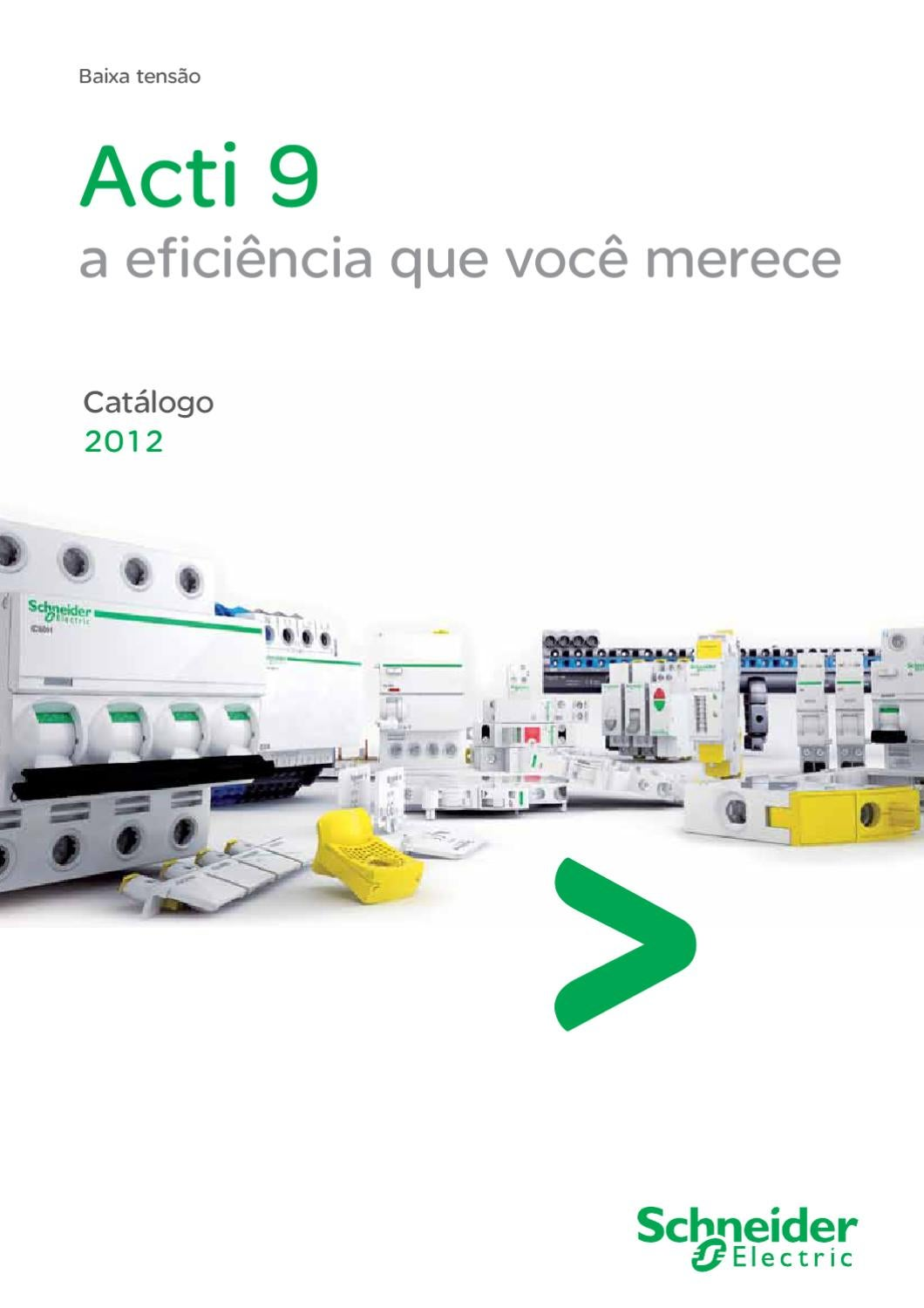 Catalogo Completo Acti9 By Schneider Electric Brasil Issuu