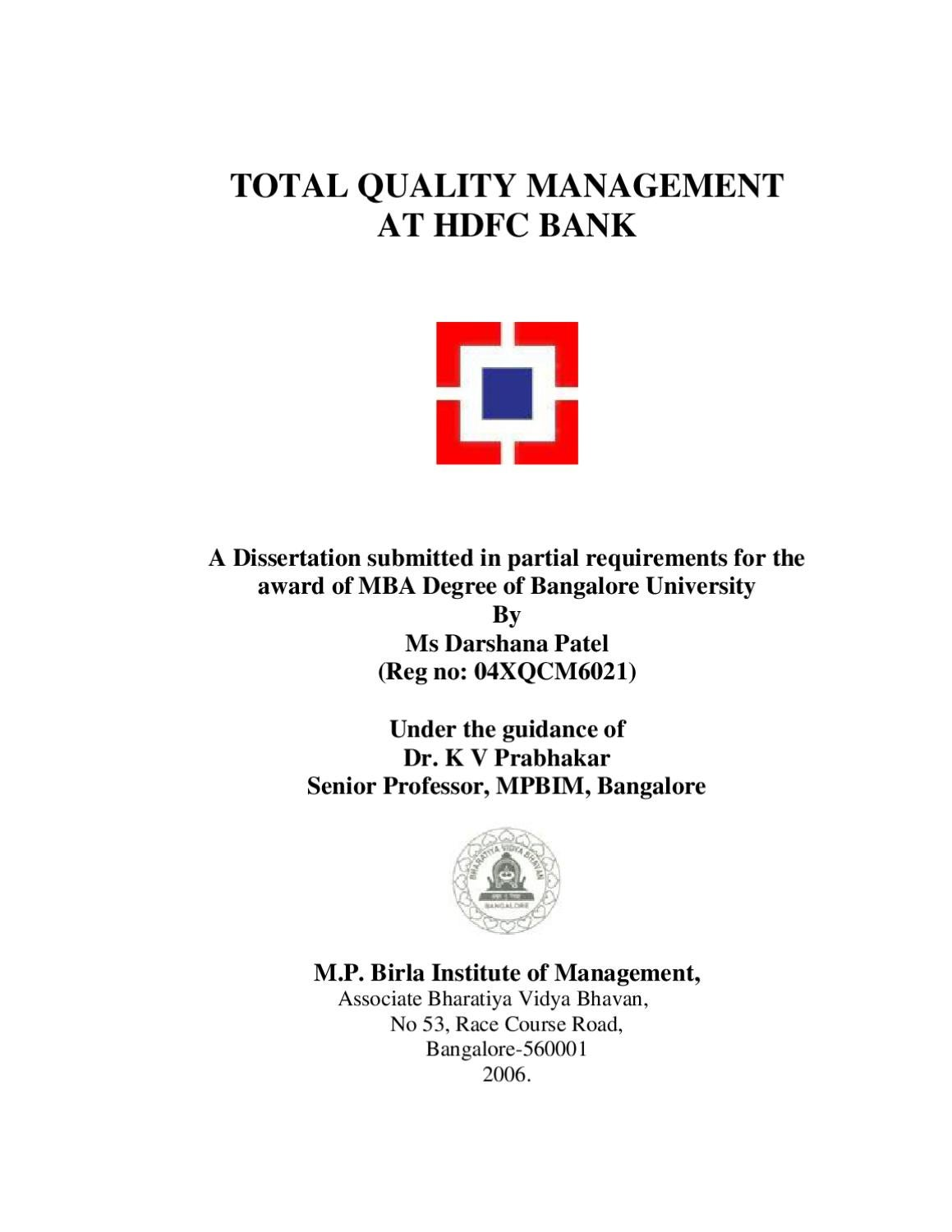 challenges for implementing total quality management in n challenges for implementing total quality management in n banks a study by sanjay gupta issuu