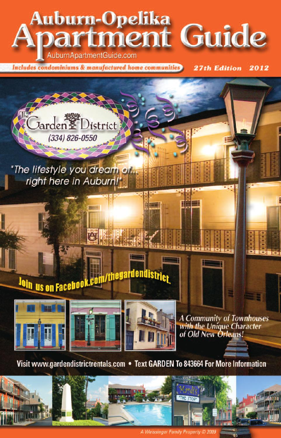 . Auburn Opelika Apartment Guide by Jim Andrews   issuu